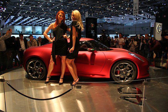 Alfa Romeo 4C Coupe (salon Genewa 2011)