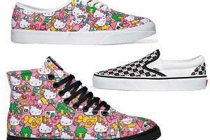 Vans i Hello Kitty