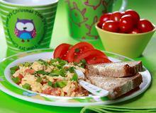 Jajecznica Pomidorowa - ugotuj