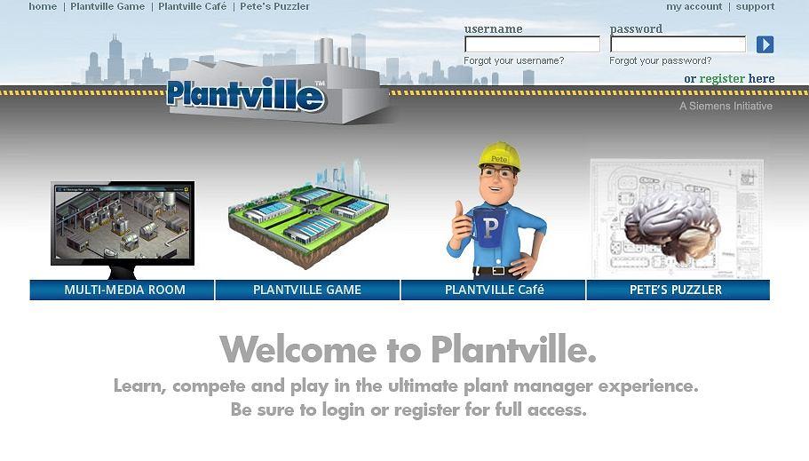 PlantVille to klon FarmVille przygotowany przez firmę Siemens