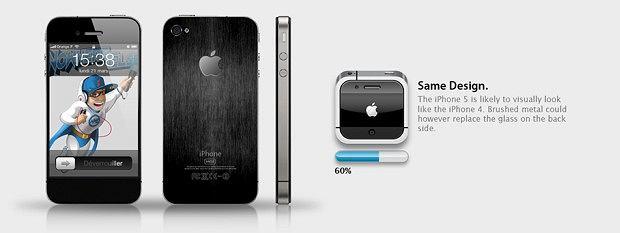 Plotki o iPhone 5