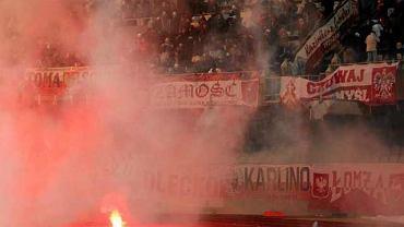 Zamieszki na stadionie w Kownie