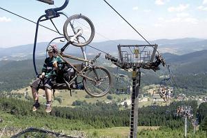 Polska. Śnieżnik i rower