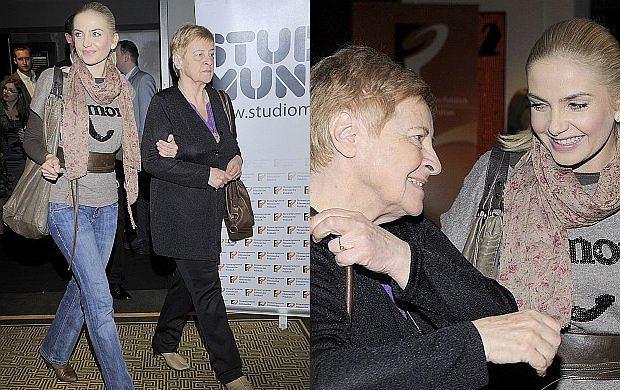 Maja Frykowska na premierze filmu