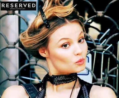 Magdalena Frąckowiak w kampanii Reserved My beautiful story