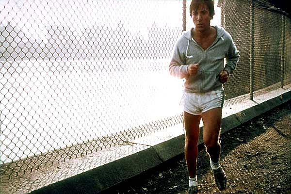 Dustin Hoffman w filmie ''Maratończyk
