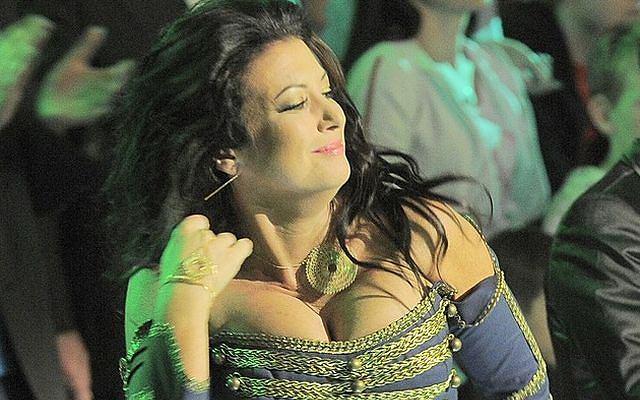 Alicja Węgorzewska była jednym z najmocniejszych punktów show