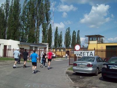 W biegu wzięło udział 35 więźniów