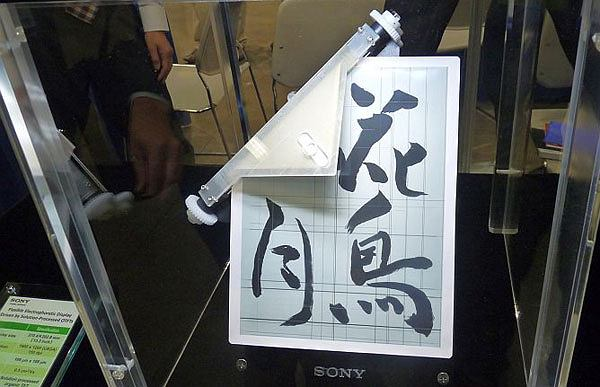 Elastyczny wyświetlacz od Sony