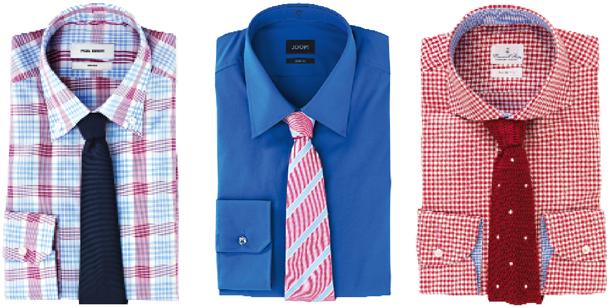 krawat, koszula