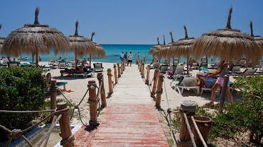 Plaża w Tunezji