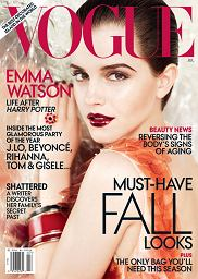 Emma Watson na okładce Vogue nie do poznania