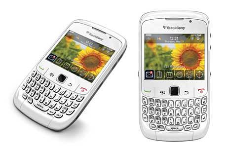 BlackBerry - Curve 8520 White