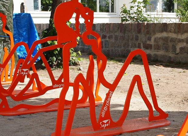 Stojaki rowerowe wybrane przez internautów w ramach akcji