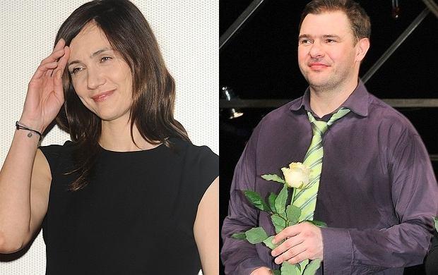 Ilona Ostrowska i Tomasz Karolak.