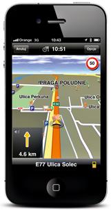 komórka, nawigacja, gps,Navigon MobileNavigator