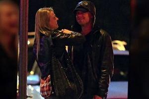 Anna Jagodzińska i Leonardo DiCaprio.