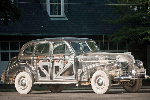Pontiac Plexiglas Deluxe-Six Ghost Car