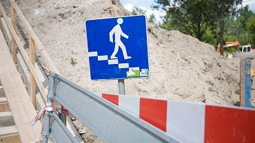 Znak 'Przejście podziemne'. Zdjęcie ilustracyjne