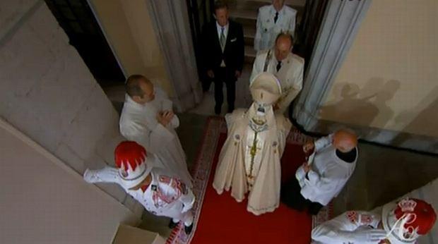Księża prowadzący uroczystość