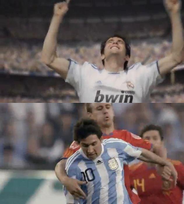 Kaka, Leo Messi