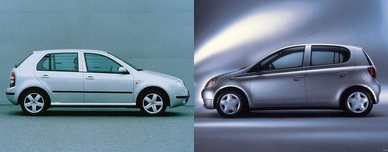 Skoda Fabia vs Toyota Yaris