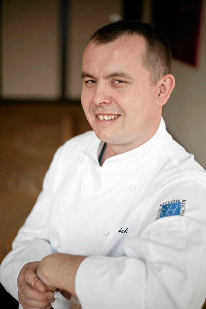 Łukasz Pielak. Zastępca szefa kuchni w restauracji Platter by Karol Okrasa w hotelu Intercontinetal w Warszawie