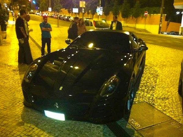 Nowy samochód Cristiano ROnaldo