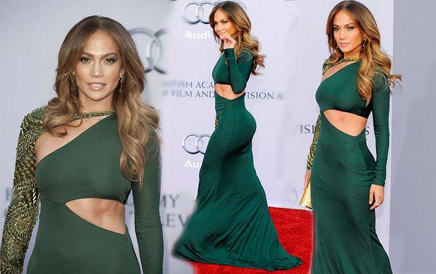 Jennifer Lopez pokazuje wyrzeżbione mięsnie brzucha