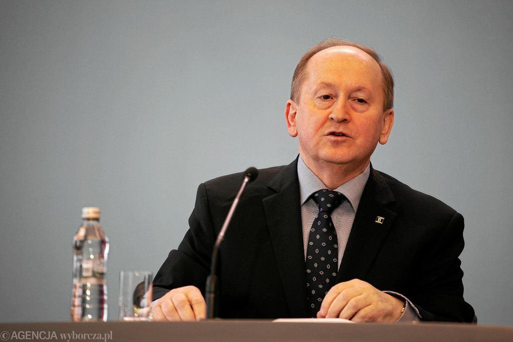 Prezes Związku Banków Polskich Krzysztof Pietraszkiewicz.
