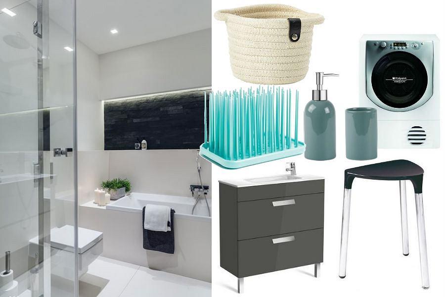 Jak tanio i modnie urządzić małą łazienkę?