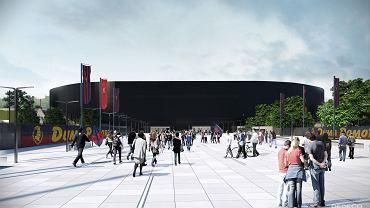 Wizualizacja stadionu - już po zmianach w projekcie