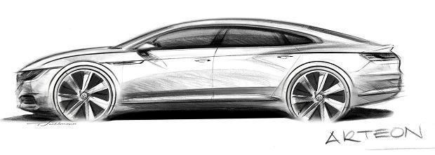 Szkic Volkswagena Arteona
