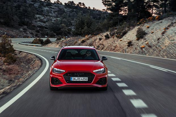 Audi odświeża swoje sportowe kombi - przyszła pora na nowe RS 4 Avant