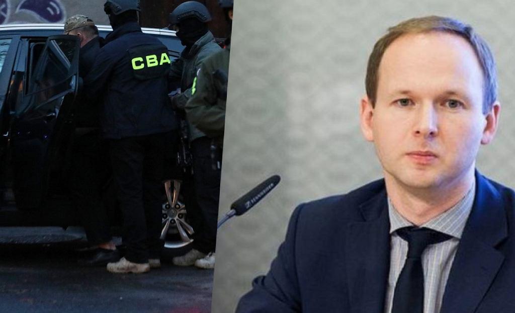 CBA zatrzymała Marka Chrzanowskiego, byłego szefa KNF (zdjęcie poglądowe)
