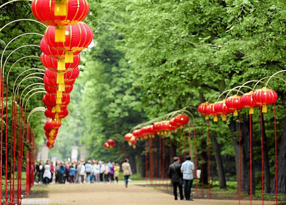 Festiwal Lampionów Chińskich W Stolicy Dziś Inauguracja