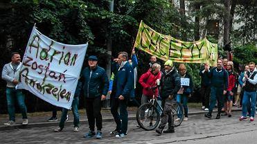 Protest w Juracie