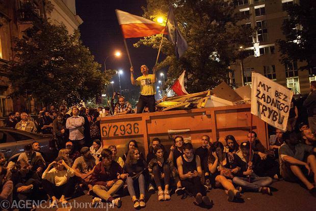 Blokada podczas ostatnich protestów - miniatura