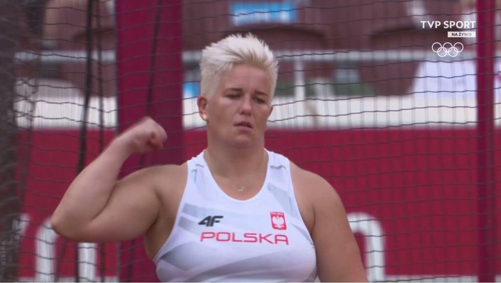 Anita Włodarczyk awansowała do finału konkursu rzutu młotem na igrzyskach w Tokio