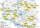 Poślizg na nowych drogach. Polscy kierowcy muszą się nastawić na długi post