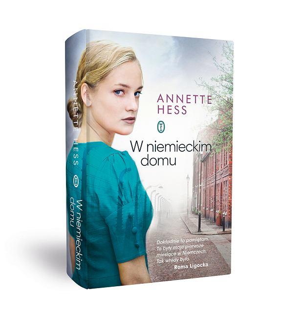 Okładka książki 'W niemieckim domu', Annette Hess