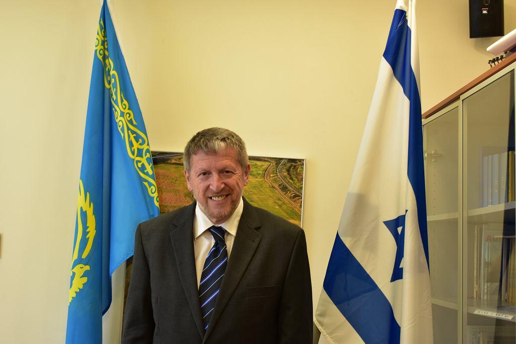 Nowy ambasador Izraela w Polsce Alexander Ben-Zvi.