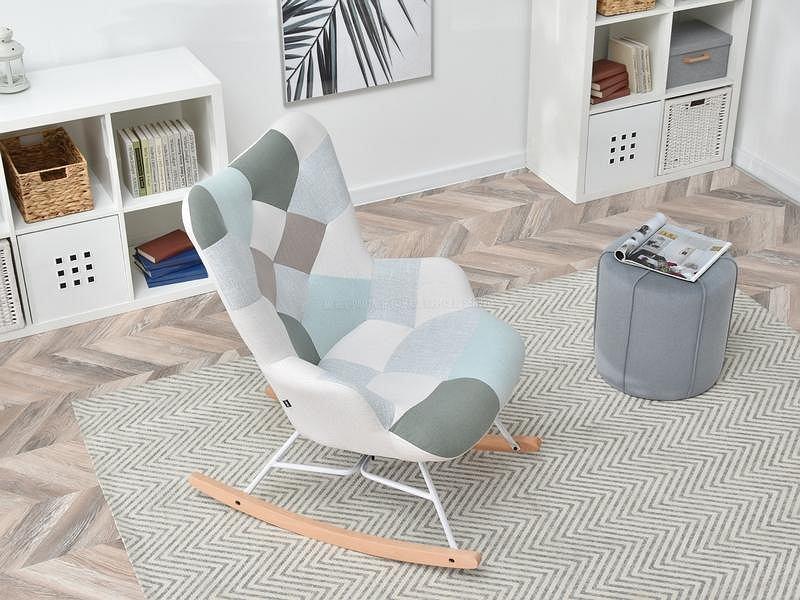 Fotel bujany Sibil