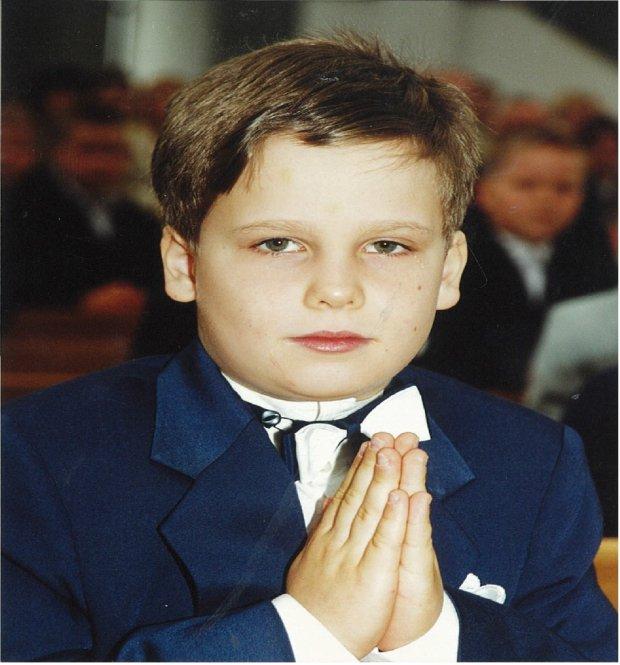 Marek, komunia w 1999 roku