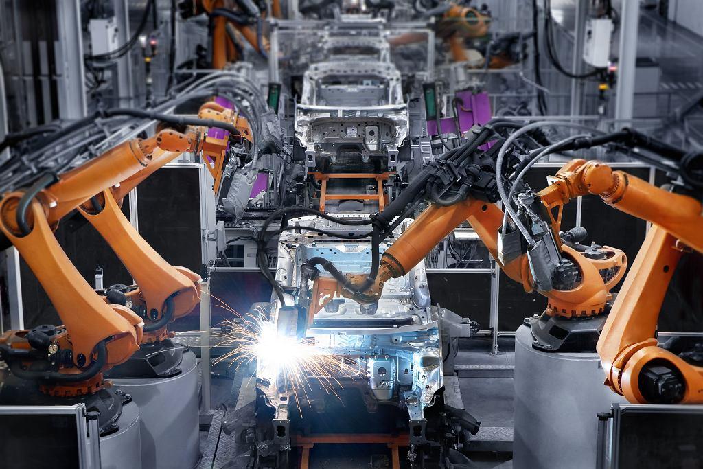 Fabryka samochodów.