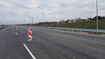 Droga S5 pomiędzy Poznaniem a Wronczynem