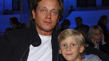 Jarosław Jakimowicz z synem