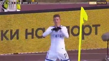 Pierwsza bramka Sebastiana Szymańskiego w lidze rosyjskiej! Polak dał zwycięstwo swojej drużynie