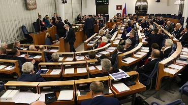 Pierwsze posiedzenie Senatu X kadencji