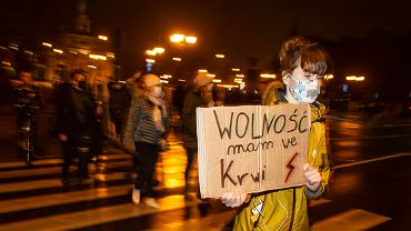 2 listopada 2020. Strajk kobiet. Druga blokada w centrum miasta